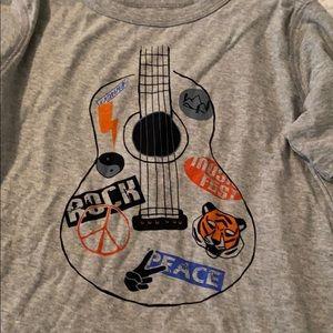 NWOT Tea Collection Guitar Shirt
